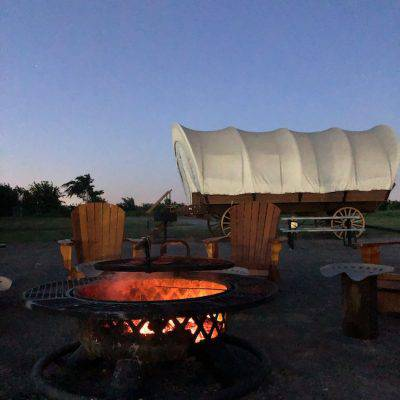 Here's Why Orr Family Farm's Covered Wagon Camping Experience Should Be on Your OKC To-Do List