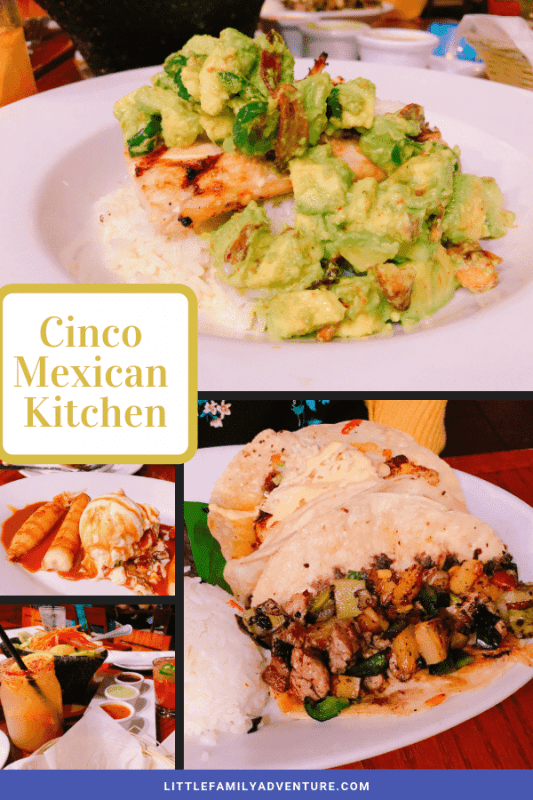 Cinco Mexican Kitchen Addison TX