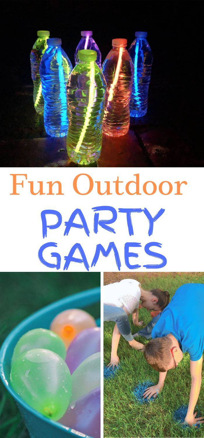 Fun Outdoor Family Games