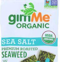 Organic Roasted Seaweed - GimMe Organic