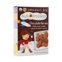 Chocolate Whole Grain Cookies - My Super Foods
