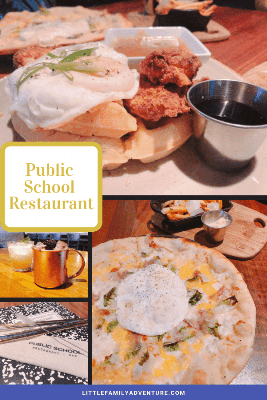 Public School Restaurant Addison Food