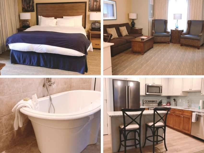 one bedroom suite RiverWalk Resort Loon NH