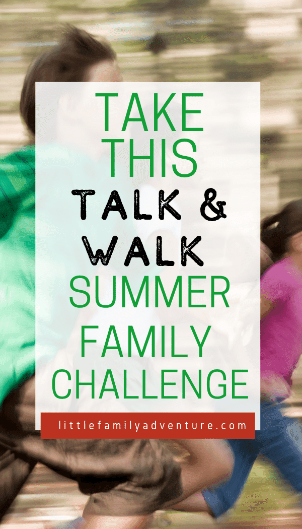 Talk and Walk Challenge graphic