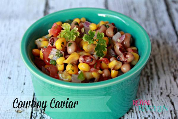 Easy Cowboy Caviar is the perfect summer time appetizer or dip.