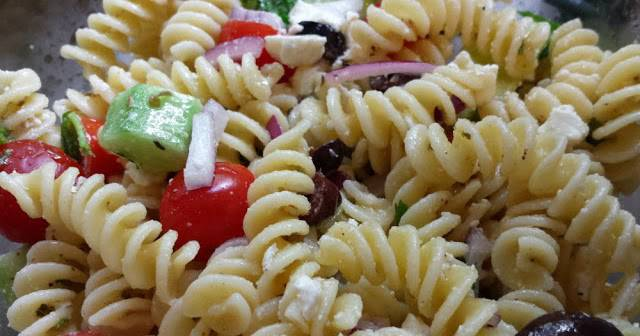 Easy No-Mayo Pasta Salad