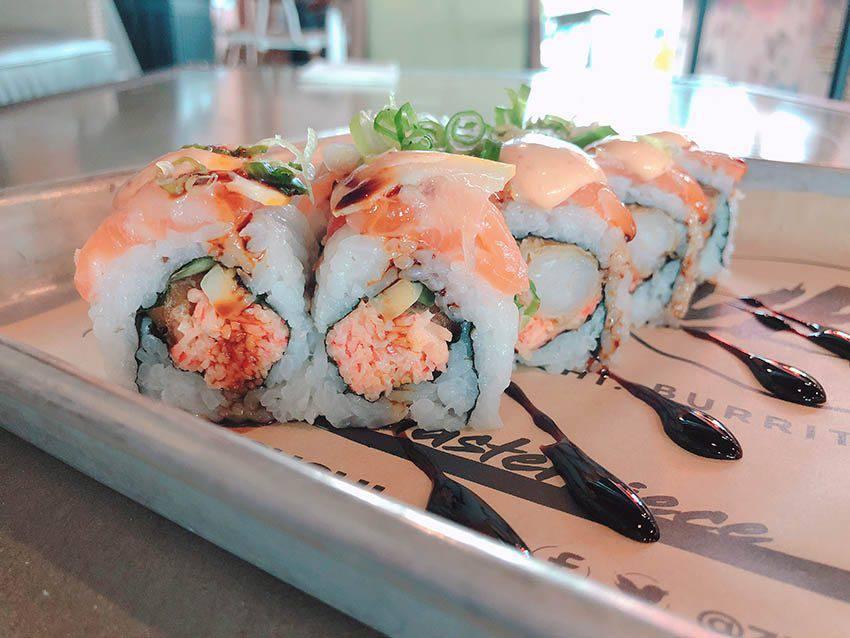 Sushi from Zukku Sushi - Tampa