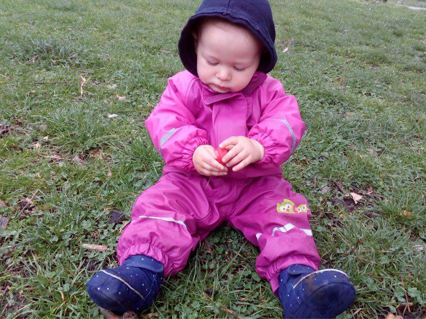 baby rain gear