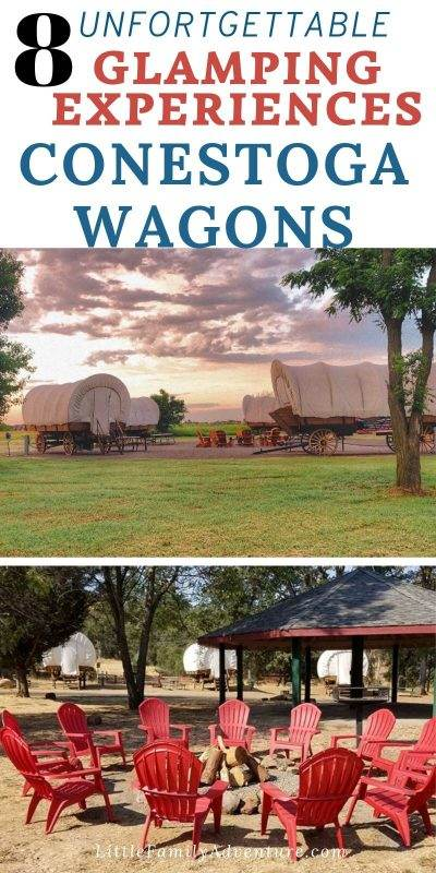 conestoga wagons glamping