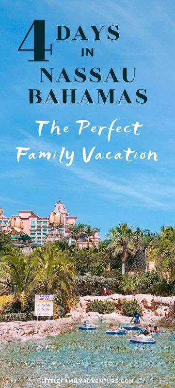 perfect family vacation in Nassau Bahamas