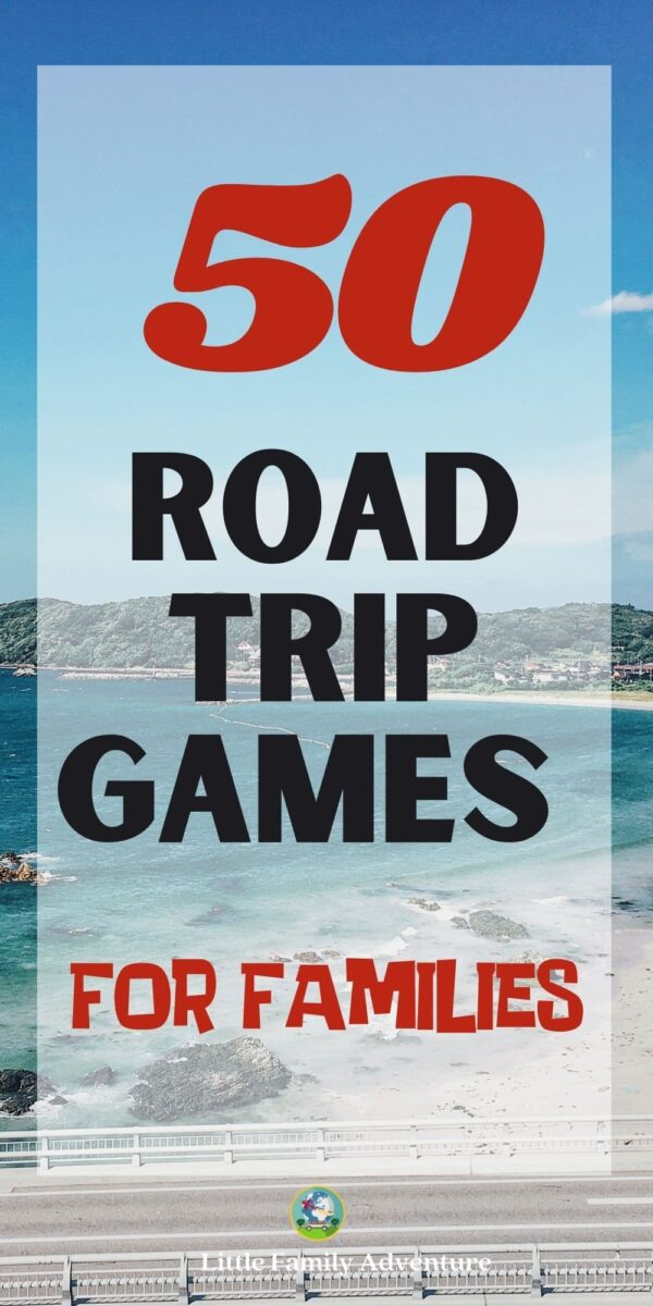 beach road trip games