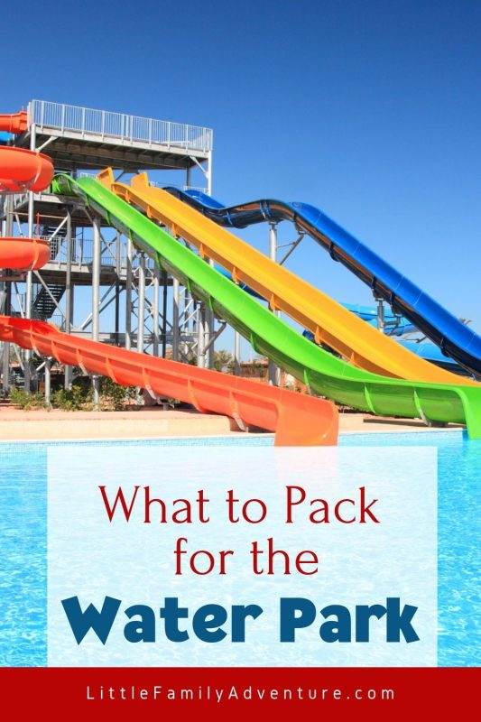 water park packing tips