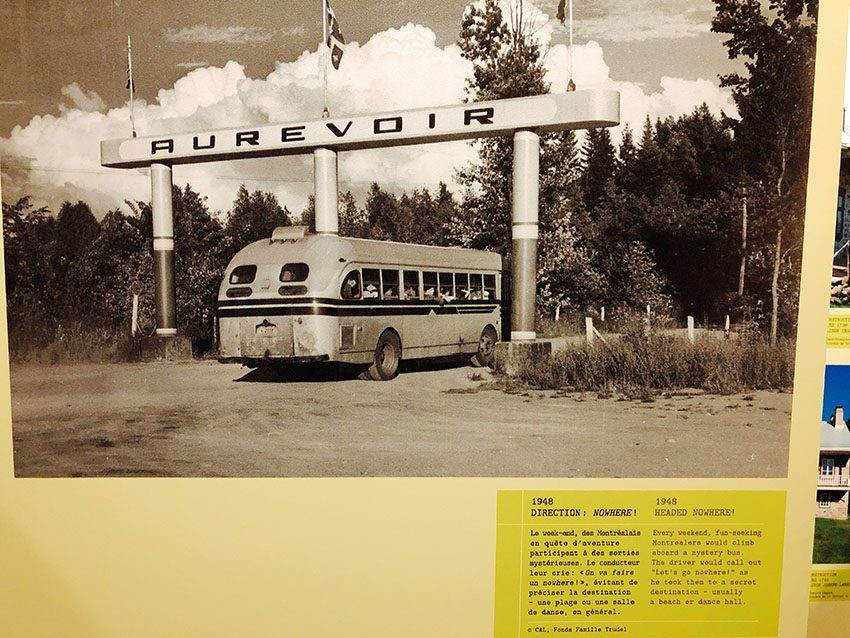 old photo from the mystery bus - Parc de la Rivière-des-Mille-Îles