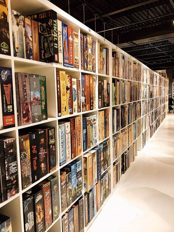 wall of games