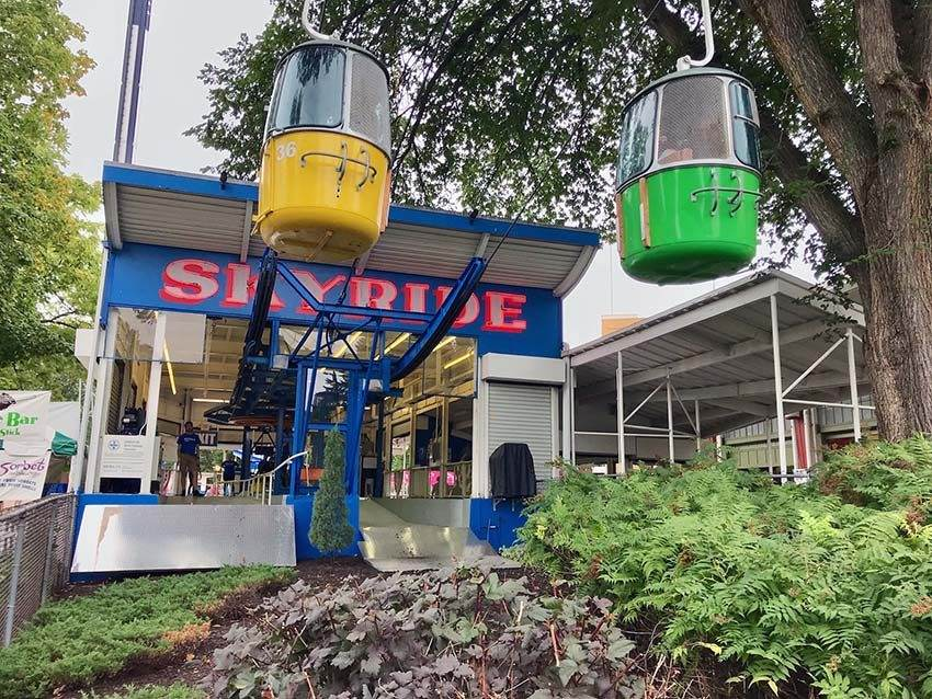 skyride - fun attractions in Mpls