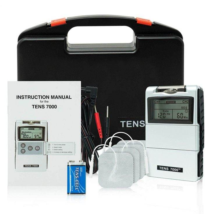 TENS 7000 2nd Edition Digital TENS Unit Kit With Accessories
