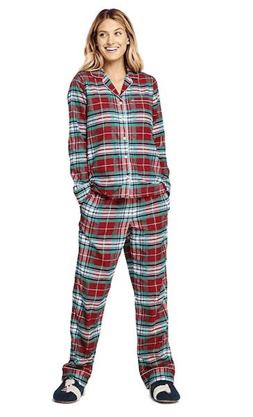 Lands' End Flannel Pajamas