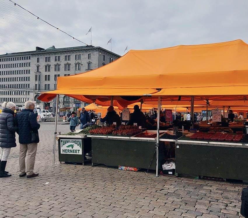 Market Square farm stand