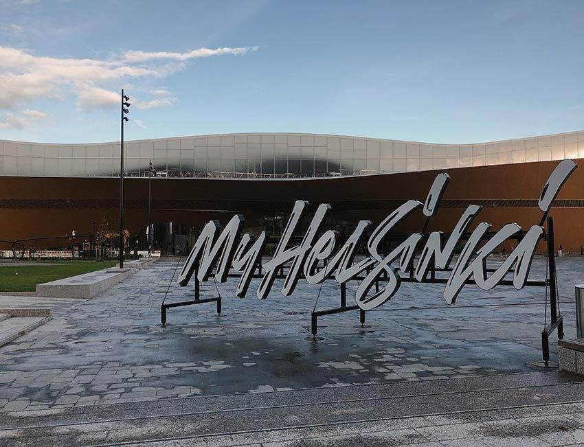 MyHelsinki Sign