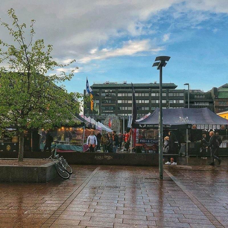 Narinkka Square market