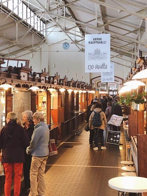 Vanha Kauppahalli indoor market