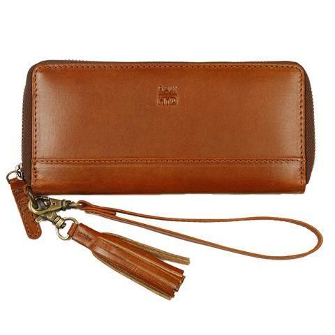 Leather Wristlet Wallet