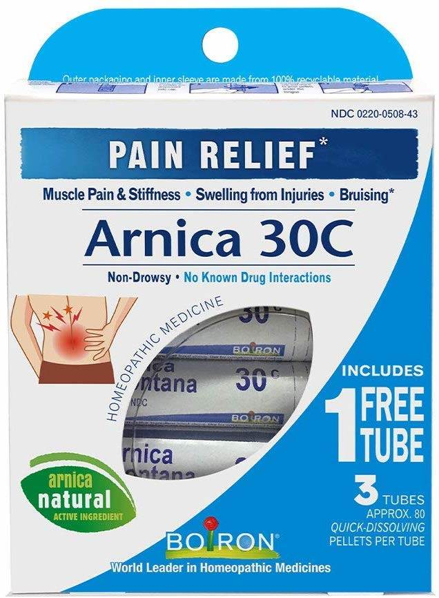 Boiron Arnica Pain Relief Tubes