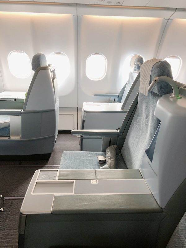 Finnair Business Class Seating
