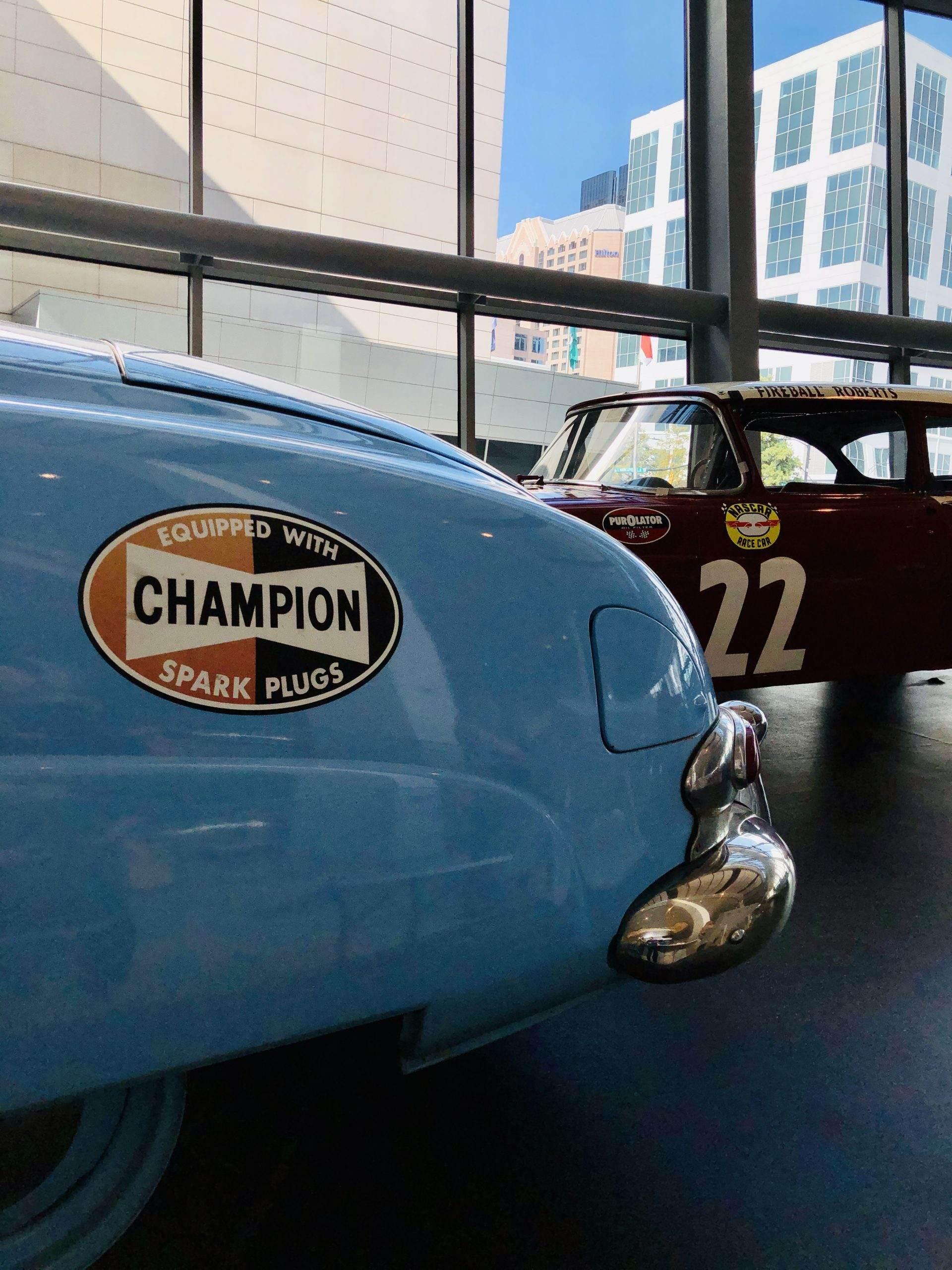 Vintage NASCARs
