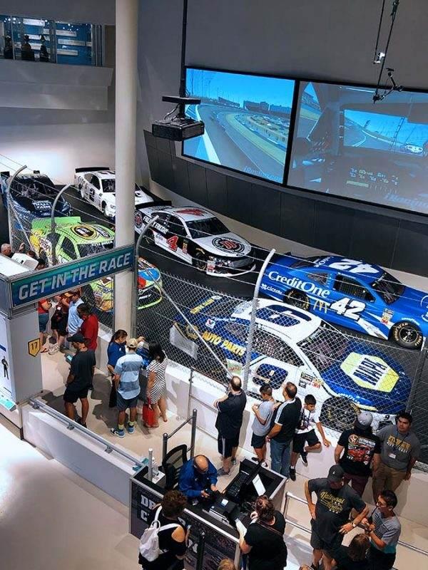 NASCAR race simulators