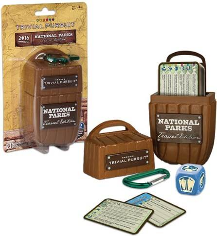 USAOPOLY National Parks Trivial Pursuit Game