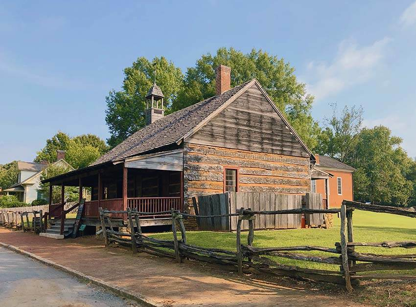 Old Salem Museum and Gardens building