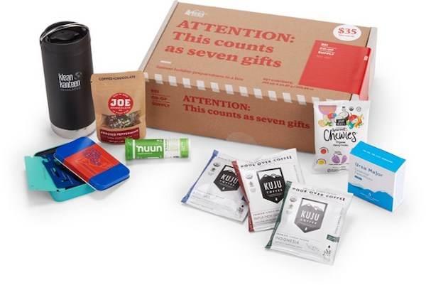 REI Co-Op Stocking Stuffer Supply Box