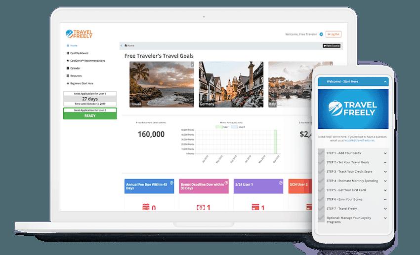 Travel Freely Travel Hacking website
