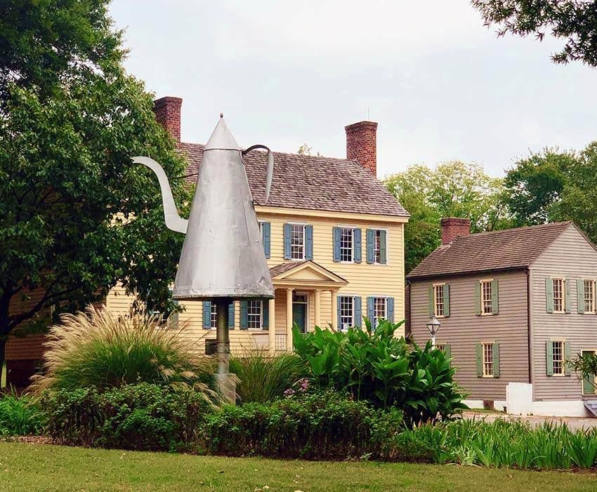 Winston Salem historic distrcit
