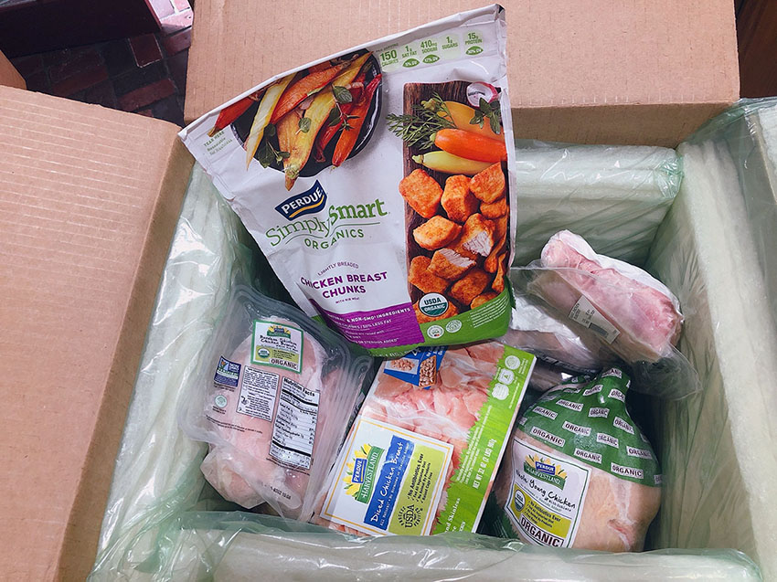 Perdue Farms Organics Bundle Box
