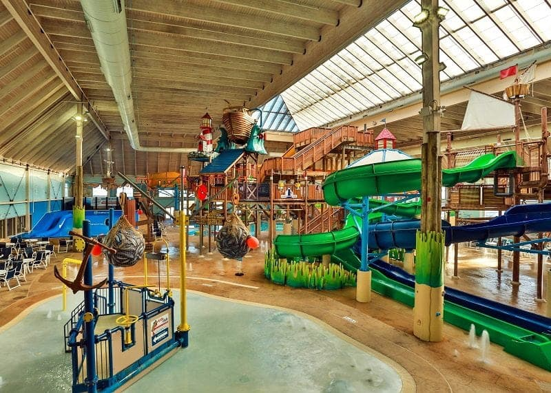 Breaker Bay Indoor Waterpark overview