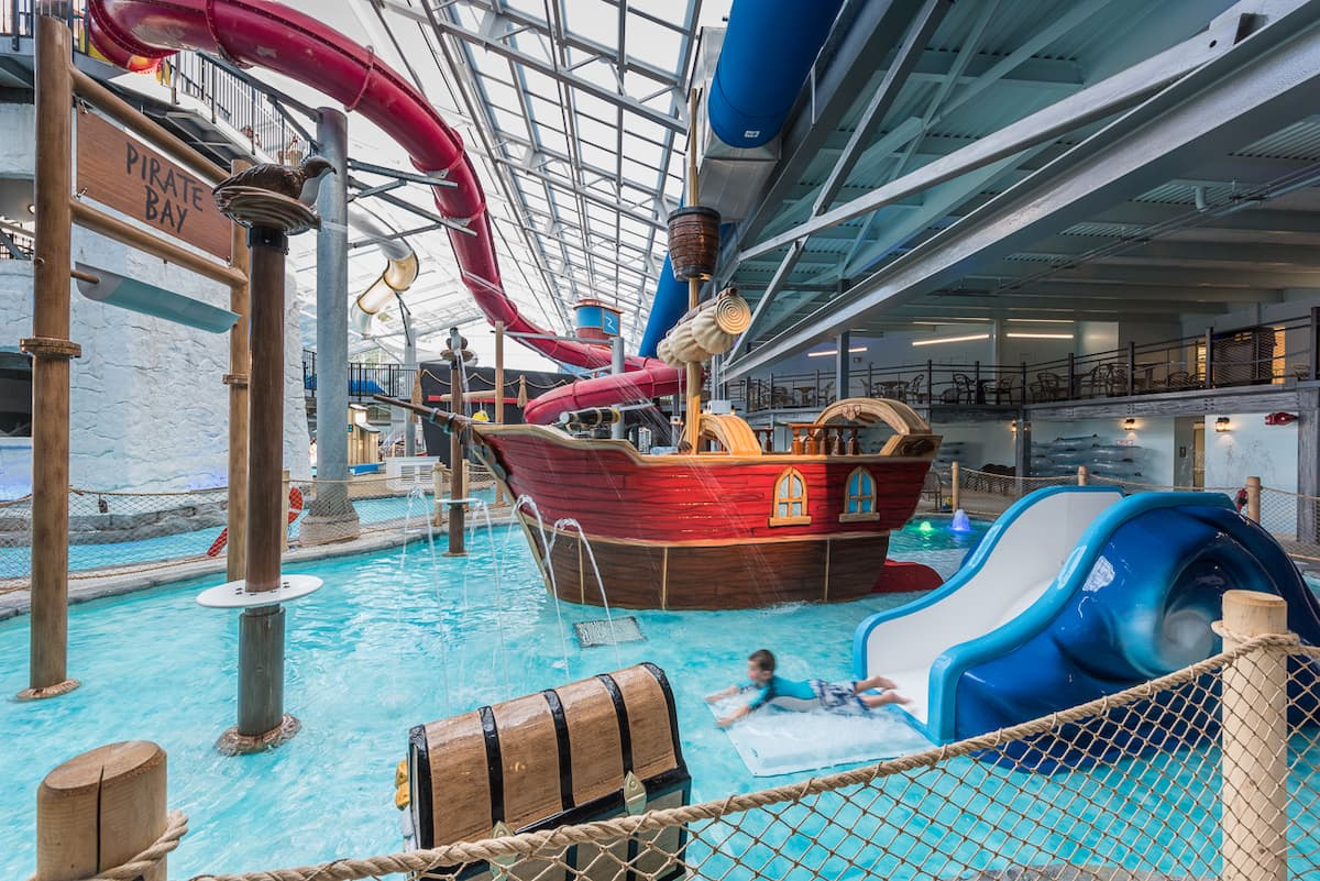 Cape Codder Pirate themed water park