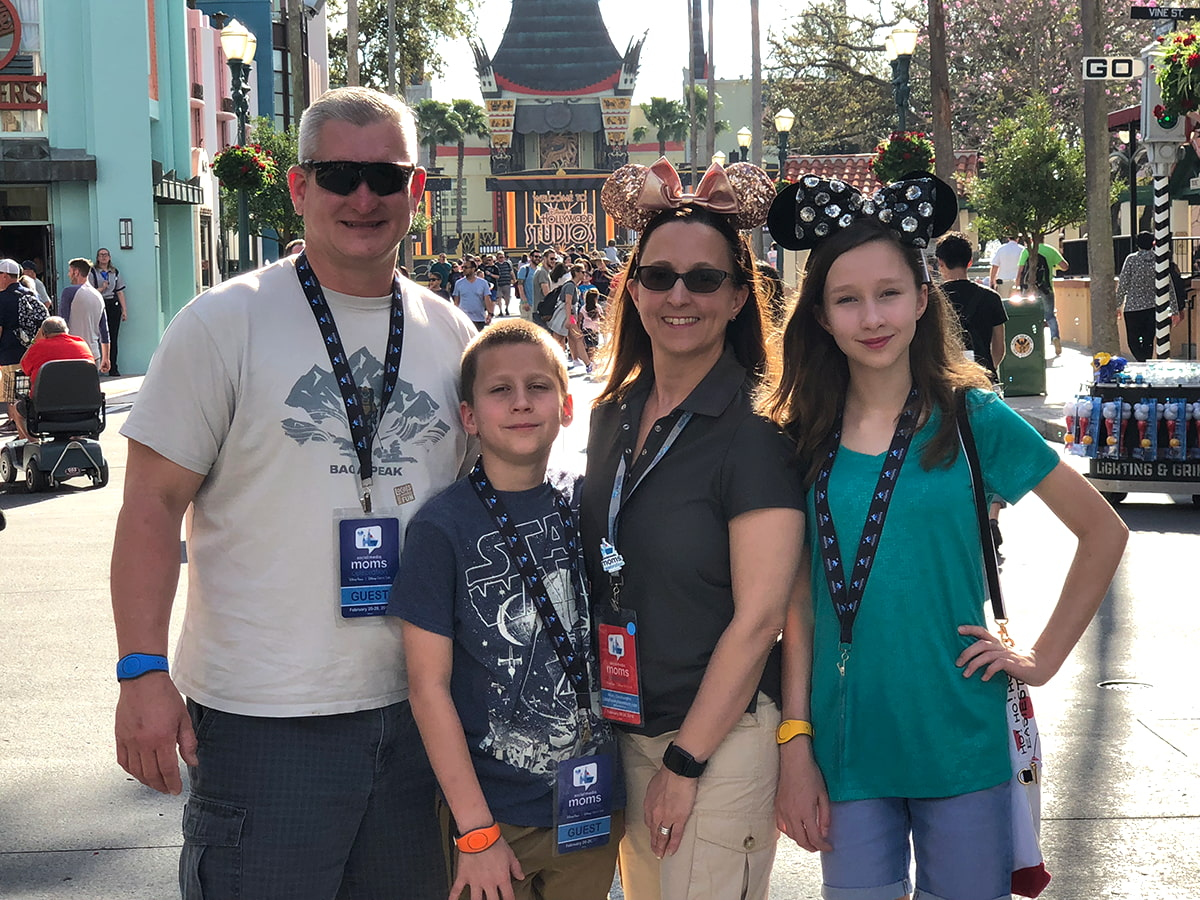 Disney Family in Hollywood Studios