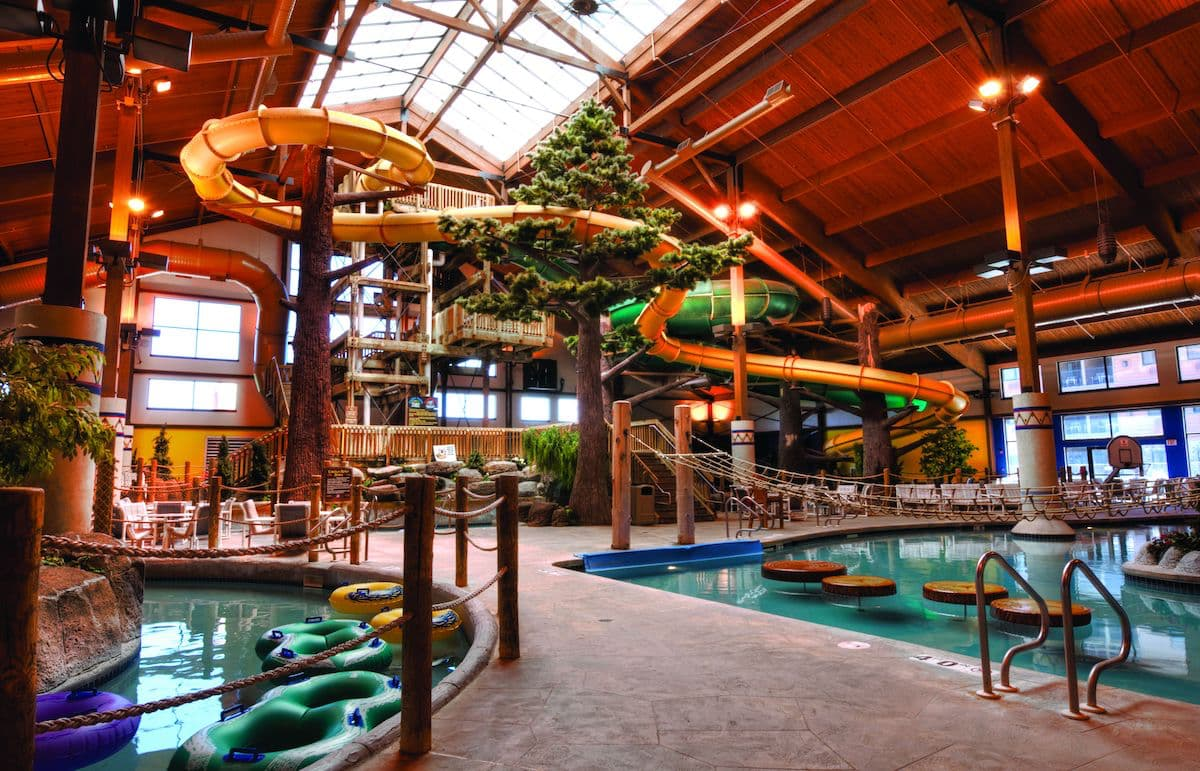 Moose Mountain Falls indoor waterpark