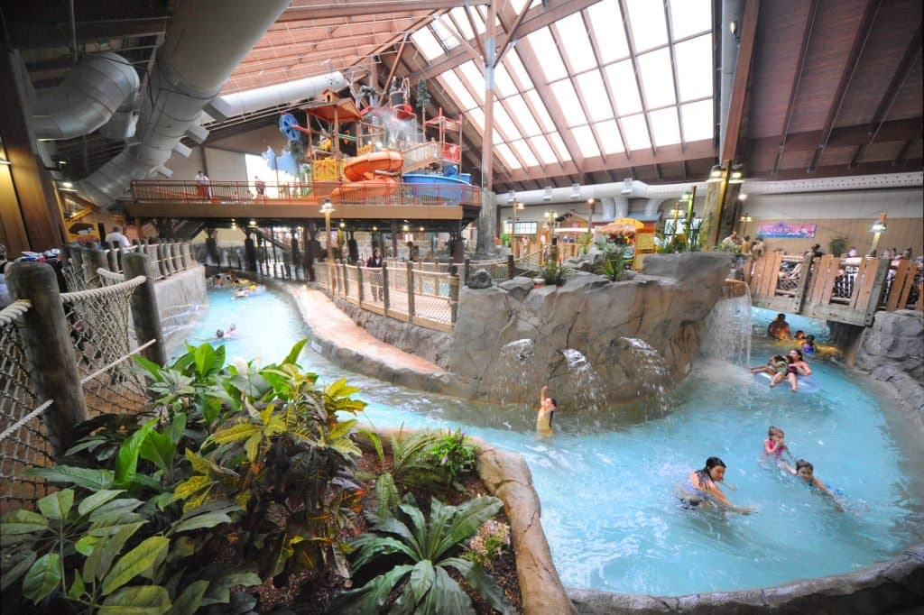 Six Flags Great Escape Lodge and Indoor Water park overview