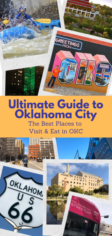 collage image for things to do in oklahoma city