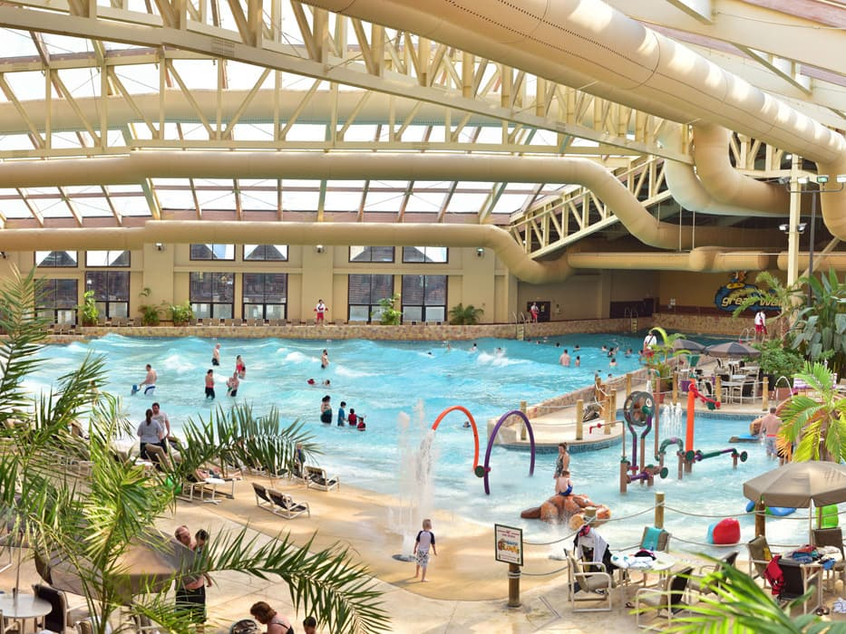The Wilderness Resort wave pool