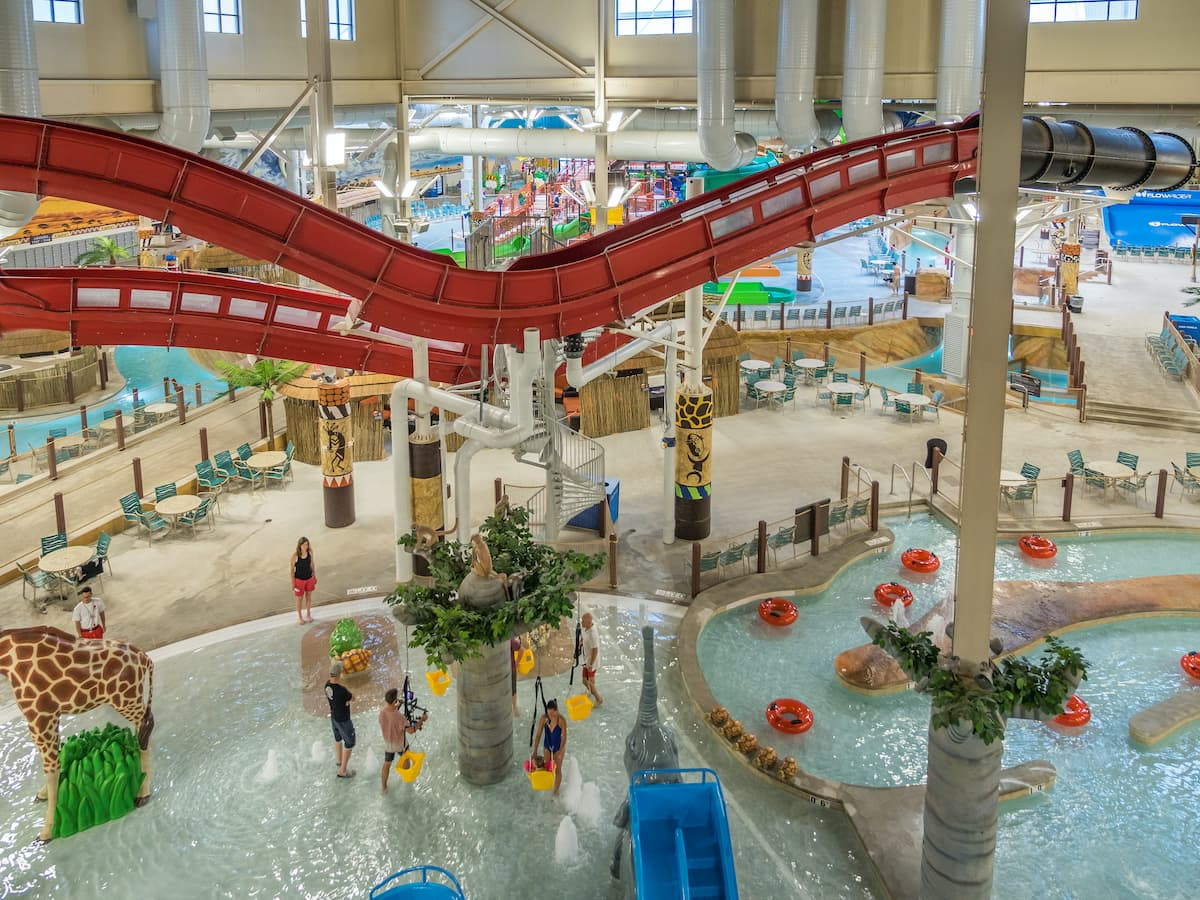 kalahari water park resort poconos