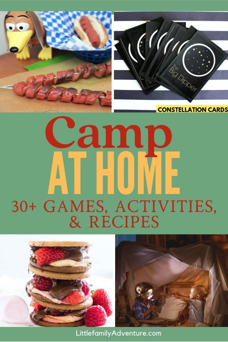 camp at home