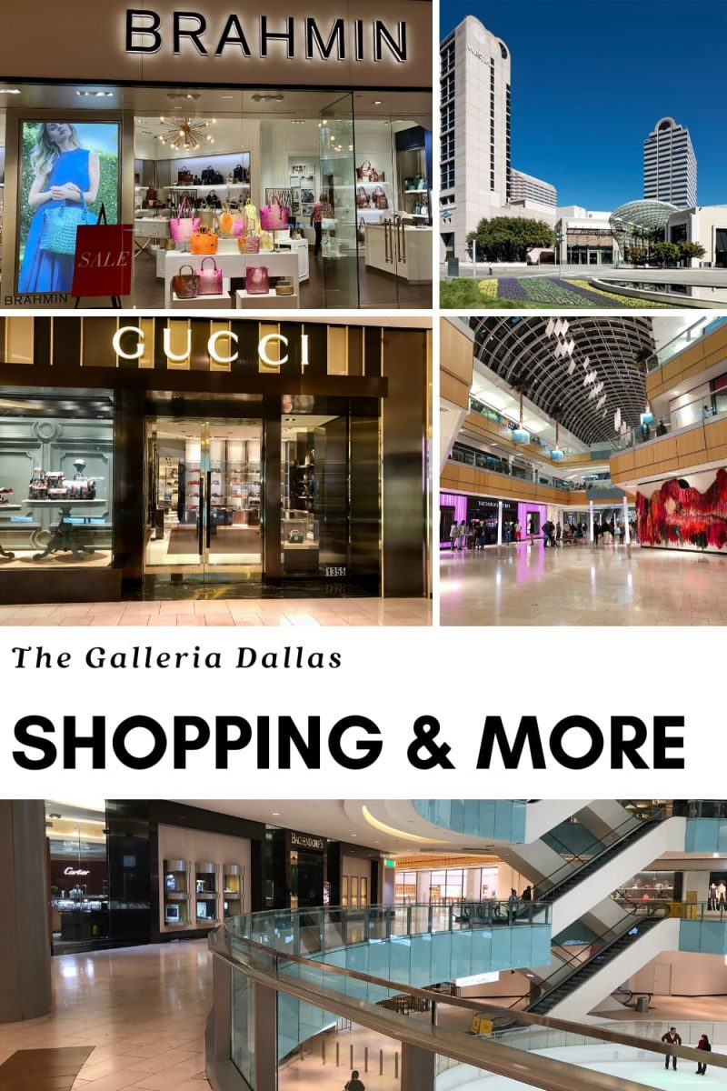 Galleria Dallas mall shops