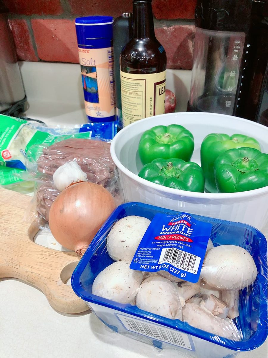 ingredients for philly cheesesteaks stuffed bell peppers