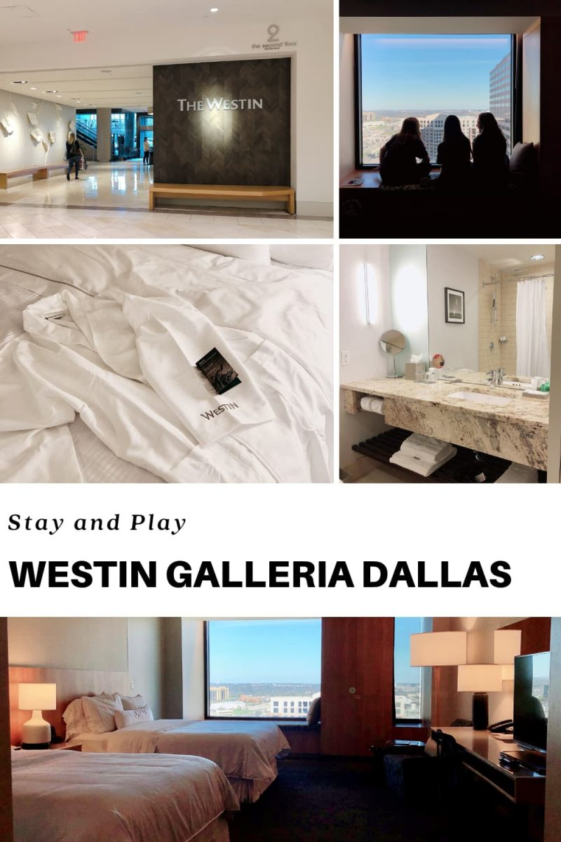 Westin Galleria Dallas rclub level oom