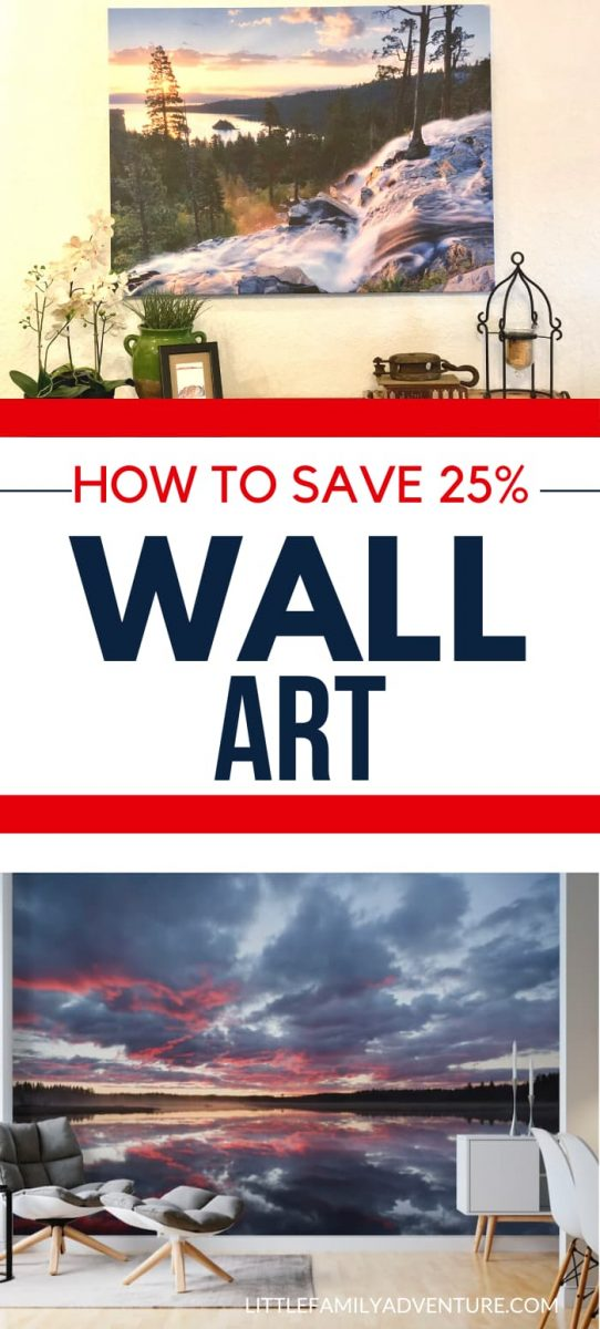 saving money on wall art