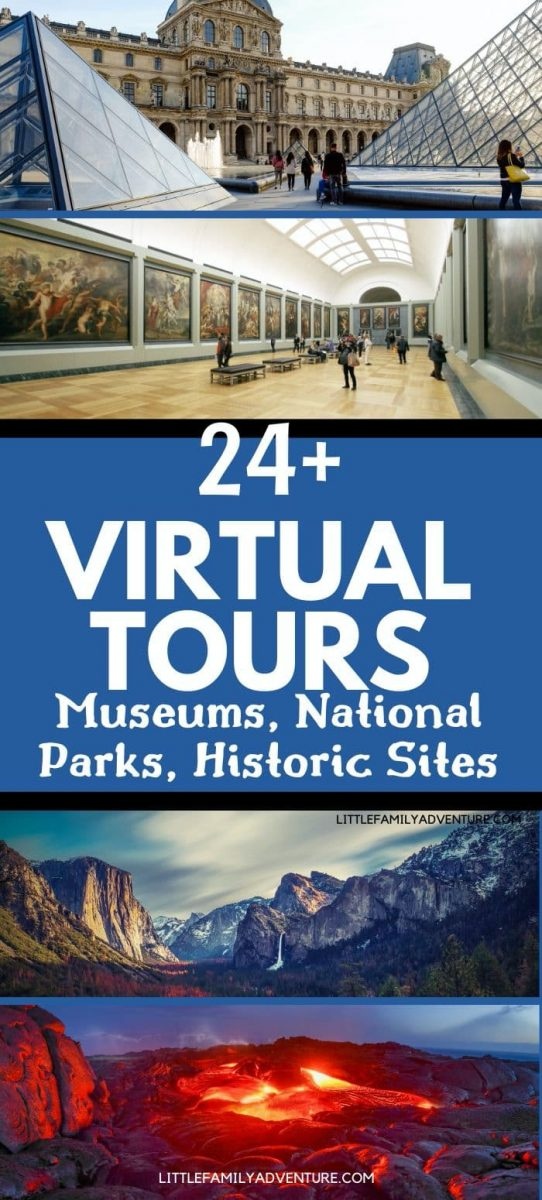 virtual tours - museums and national parks